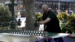 美国兴起乒乓球风