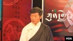 西藏行政中央首席部長洛桑森格。(資料圖片)