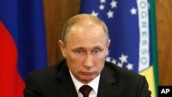 Les sanctions visent notamment le président russe Vladimir Poutine