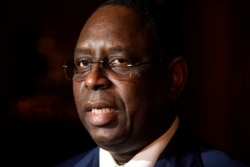 Le président du Sénégal, Macky Sall