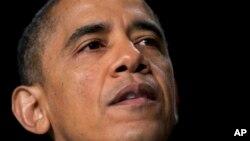President Barack Obama speaks at the National Prayer Breakfast in Washington, Feb. 7, 2013.