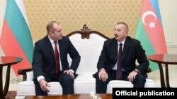 İlham Əliyev və Rumen Radev