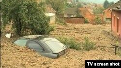 Automobil zakopan posle odrona
