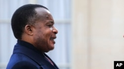Denis Sassou Nguesso,président de la République du Congo