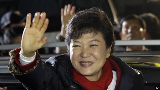 Bà Park Geun-hye đã giành thắng lợi trong cuộc bầu cử tổng thống Nam Triều Tiên