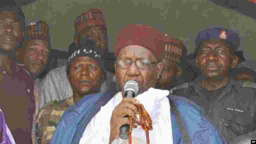 Shehun Borno Alhaji Muhammad Al-Amin ibn Al-Kanemi, 4 ga Satumba, 2014.