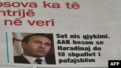 Fillon rigjykimi i pjesshëm i Ramush Haradinajt