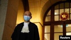 香港前終審法院首席法官馬道立。