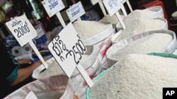 Climate change may affect prices for rice and other staple food crops