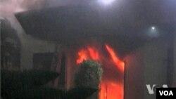 美国驻班加西领馆遭到911恐怖袭击