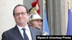 Le président de la France François Hollande à l'Elysée le 27 juillet 2016. (Elysee.fr)