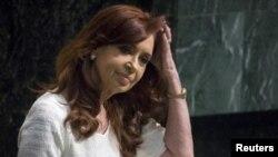 Cristina Kirchner, l'ex-présidente argentine.