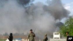 15일 대테러 작전 중인 아프가니스탄군.