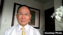 台湾外交部亚东关系协会前秘书长郭明山