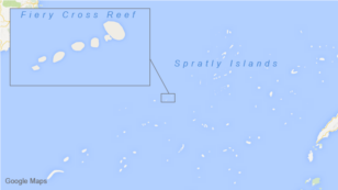 Fiery Cross Reef, Spratly Islands