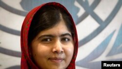 Pakistani schoolgirl activist Malala Yousafzai visited the United Nations headquarters in New York Aug. 18, 2014.