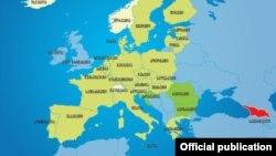 ევროპის ქვეყნები, სადაც საქართველოს მოქალაქეებს უვიზოდ შესვლა შეუძლიათ