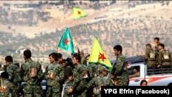Şervanên YPG'ê li Efrîn