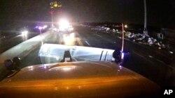 Фото Департаменту Транспорту штату Огайо. 28 травня дорожні служби розчищають трасу від уламків, спричинених торнадо