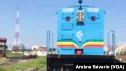 Reportage d'Arsène Séverin sur le train Brazzaville-Pointe-Noire