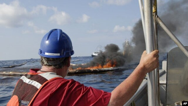 Gulf cleanup workers in close contact with crude oil, smoke fumes and dispersants have reported feeling ill.