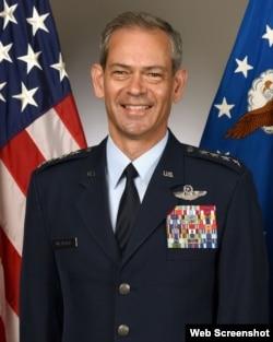 Tướng Kenneth Wilsbach, Tư lệnh Không quân Hoa Kỳ ở Thái Bình Dương (PACAF). Photo: Facebook EAPMediaHub.