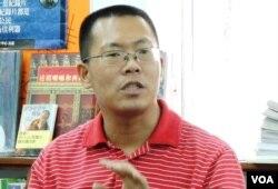 中國維權律師滕彪講述自己因言論被當局關押的感受