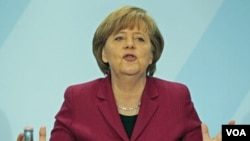 Partai pimpinan Kanselir Jerman Angela Merkel kalah dalam pemilihan daerah.