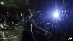 Protest u Bruklinu, u Njujorku