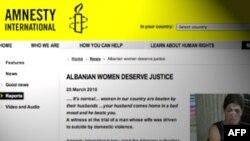 Amnesty International: Gratë shqiptare meritojnë drejtësi