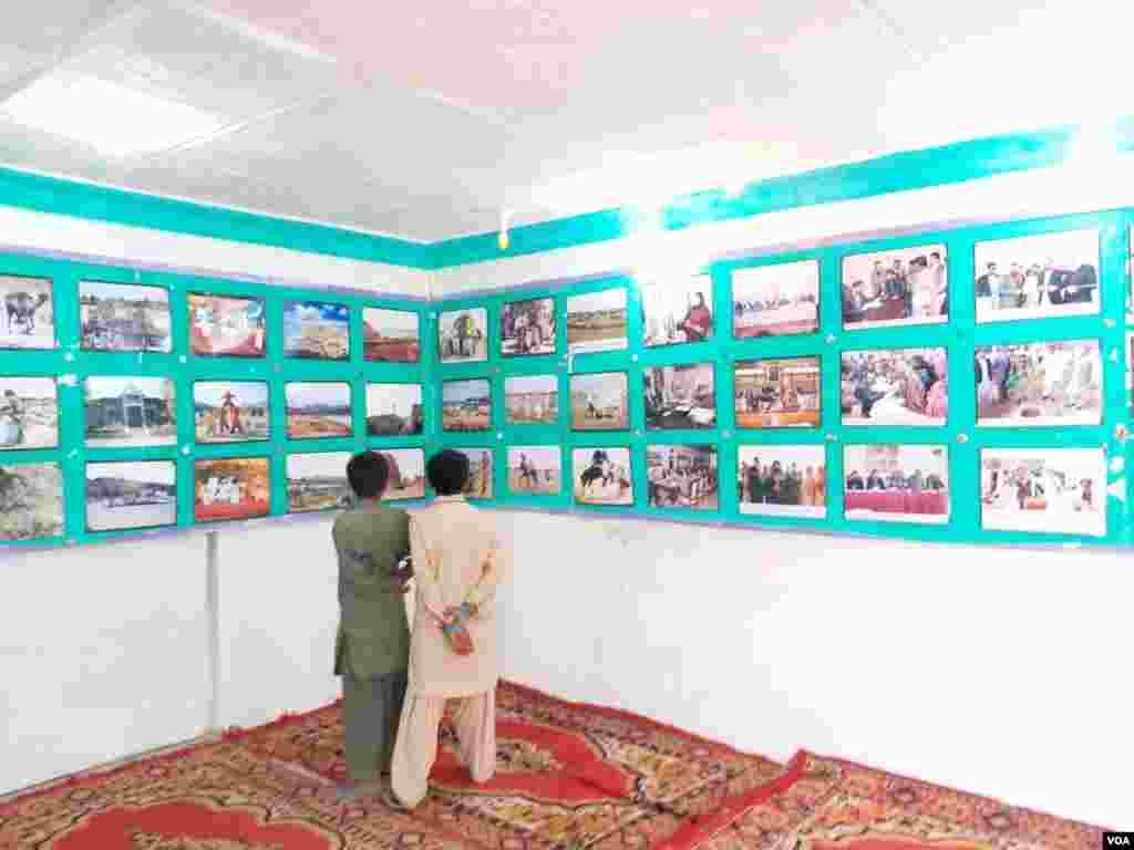 بلوچستان کے مختلف علاقوں کی منفرد تصاویر بھی یلے کا حصہ ہیں