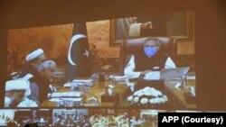 صدرِ پاکستان کے زیرِ صدارت ویڈیو لنک کے ذریعے چاروں صوبوں سے علما اجلاس میں شریک ہوئے۔