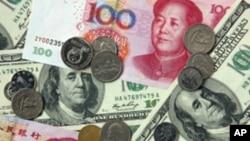 美元與人民幣之比對