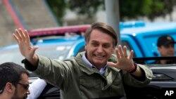 بالسونارو در نخستین سخنان خود پس از پیروزی در انتخابات گفت قصد دارد مسیر حرکت برزیل را تغییر دهد