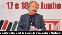 Mia Couto, Conferência Científica Sobre a Covid-19 em Moçambique, 17 e 18 junho 2020 (Foto de Arquivo)