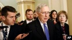 Lider većine u Senatu Mič Mekonel (Foto: AP/Patrick Semansky)