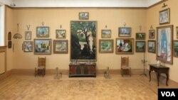 В одном из залов коллекции Барнса.