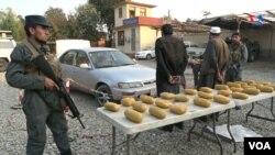 Arrested Smugglers in Nangarhar