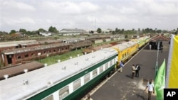 Un plan de 166 million de dollars devrait aider à redynamiser la Nigerian Railway Corp.