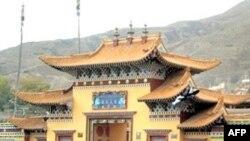 Протест тибетських студентів
