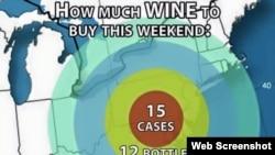 Snowstorm Wine Chart