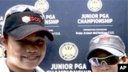 สัมภาษณ์นักกอล์ฟสาวชาวไทยสองคนพี่น้อง คุณโมรียา และคุณเอรียา จุฑานุกาล