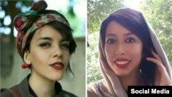 صبا کردافشاری و یاسمن آریانی، زندانیان بازداشت شده در تجمع مرداد ۹۷