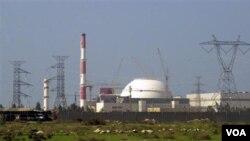 Pembangkit listrik tenaga nuklir Iran di Bushehr, Iran selatan (foto: dok.).