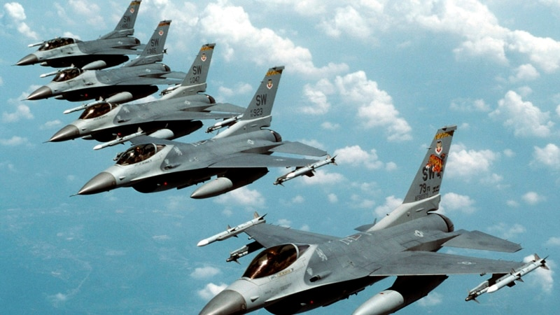 US, European Jets Join Arctic Exercise Near Russia
