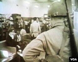"""Jedan od dočeka """"Putnika slobode"""" 1961. ...."""