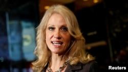 當選總統川普選擇凱莉安康韋為總統顧問