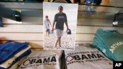 Recuerdos del presidente Barack Obama de vacaciones en Martha's Vineyard, donde pasará más de dos semanas con su familia.
