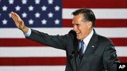共和黨總統候選人羅姆尼(Mitt Romney)