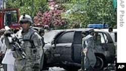 塔利班宣称对阿富汗自杀袭击负责